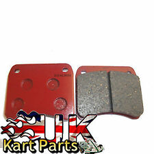 KART Pair of Kelgate / MX KP Red Extra Thick Pattern Brake Pads Great Value