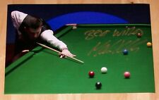 MARK SELBY SNOOKER AUTOGRAPH PERSONALLY HAND SIGNED 12X8 PHOTO