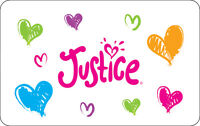 Justice Tween Clothing Gift Card - $25, $50 or $100 - Email delivery