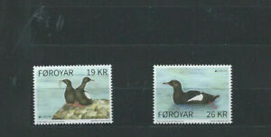 Briefmarken Faröer , 2019, Europa - Vögel, 955 - 56**,