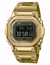 G-Shock Men's GMWB5000GD-9 Gold Tone Black Digital Dial Solar Powered Watch
