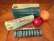 RED PANAX GINSENG EXTRACT 1 BOX 10 BOTTLE 12 YEAR OLD ROOT EXTRA STRENGTH 6000MG