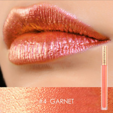 New Focallure Chameleon shimmer Matte Lipstick colors #4 - Garnet -orange