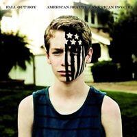 FALL OUT BOY : AMERICAN BEAUTY/AMERICAN PSYCHO : CUSTOM BLUE VINYL LP