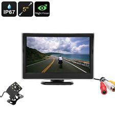 New listing Car Truck Rear View Reversing Parking Backup Camera Kit, 5 Inch, Night Vision