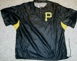 PITTSBURGH PIRATES VINTAGE WARMUP  STARTER DIAMOND COLLECTION WARMUP SIZE SMALL