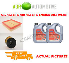 DIESEL OIL AIR FILTER KIT + FS 5W40 OIL FOR RENAULT LAGUNA 2.2 139 BHP 2005-07