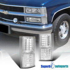 For 1994-1998 Chevy C10 4PC Corner Lights Signal Lamps Silverado Tahoe