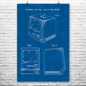 Apple Macintosh Computer Poster Print Mac Art Print Computer Lab Art