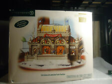 "Dept 56 "" Christmas at Lakeside Park Pavilion """