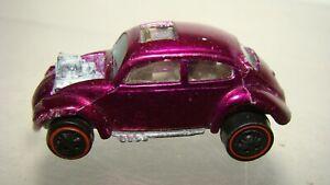 Hot Wheels Redline Custom Volkswagen Beetle magenta