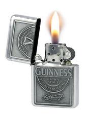 Guinness Wind-Proof Embossed Label Oil Lighter (Optional Gift Box)