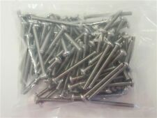 """Stainless Steel Screw Lot Of ( 100 ) 10-24 X 2"""" Marine Boat"""