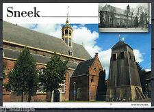 Nederland Voorgefrankeerde ansichtkaart Sneek Martinikerk - Postcard