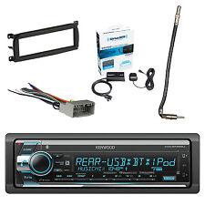 Kenwood Stereo w/Radio Tuner, Dash Kit, Antenna Adapter & Radio Wiring Harness