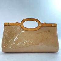 LOUIS VUITTON Handbag M91372 Roxbury Drive Monogram Vernis Noisette