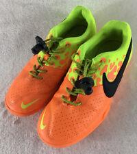 Nike JR Elastico II Indoor Soccer Shoes Bright Citrus Black-Volt Boy's Youth 1Y