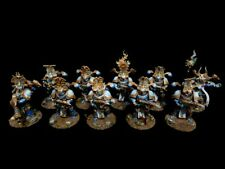 PRO-PAINTED Chaos Thousand Sons Rubric Marines Squad COMMISSION 10 models