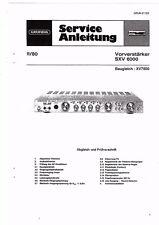 Grundig Service Manual für SXV 6000 Qualität ausreichend baugleich XV 7500
