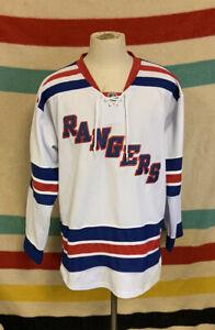 Rick Nash New York Rangers #61 White Reebok Jersey With Fight Strap