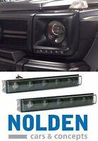 for Mercedes W463 G Class BLACK Daytime Running Light LED DRL Nolden ORIGINAL