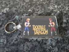 Double Dragon Jumbo Keyring. Billy and Jimmy Lee. Retro Gaming