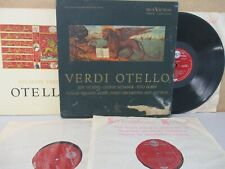 LIVING STEREO UK LDS 6155 R/S Verdi- Otello 3-LP Vickers/Rysanek/Gobbi/Serafin