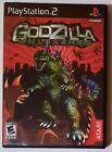 Godzilla Unleashed PS2 w/Manual