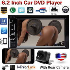 Double Din CD DVD Bluetooth Car Radio Stereo & Cam For GMC Sierra Savana Kenwood