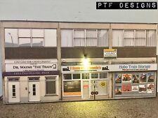 "* O Scale Scratch Built ""TRAIN STORE"" Shop LED, Building Front/Flat, MTH Lionel"