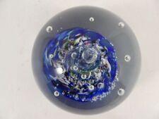 Multi Paperweight Hand Blown Art Glass