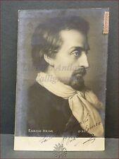 ENRICO [HEINRICH] HEINE 1903 Viaggiata Gaeta Bartolomeo Ritratto Poesia GERMANIA