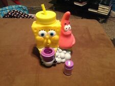 SpongeBob SquarePants Drinking Cup Collectible Figure Universal Studios w/ Straw