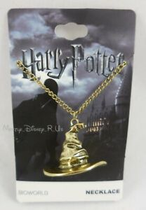 New Harry Potter Magic Golden Sorting Hat Pendant Charm Necklace
