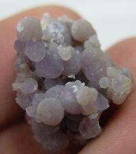 20.00ct Indonesia Natural Purple Grape Chalcedony Cluster Specimen 4.00g 21mm