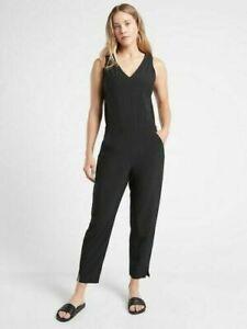 ATHLETA Brooklyn Jumpsuit 0 ( XS )  Black NWT #981021 Lightweight