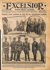 Imperial Russian Army Tsar Nicholas II  & General Dmitry Shcherbachev  WWI 1916