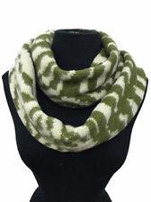 Warm Winter Infinity Loop Fashion Scarf Thick Soft Zebra Striped Animal Print