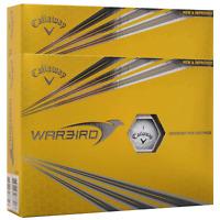 CALLAWAY WARBIRD HEX 2 PIECE WHITE GOLF BALLS / DOUBLE DOZEN / 24 BALL PACK