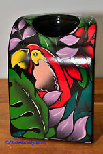 Vase STEULER  Design  Keramik PopArt Papagei Made Germany