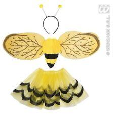 Children's Bee Set - Child Unisex Dress Up Tutu Wings Antenna Accessory Bumble