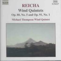 REICHA: WIND QUINTETS, OPP. 88/5 & 91/1 NEW CD