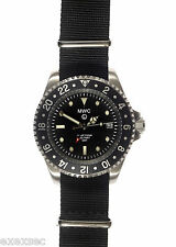 MWC GMT Dual Timezone 300m Water Resistant  Stainless Steel  Military Watch