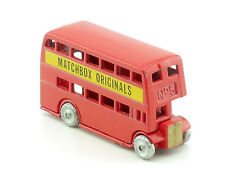 Matchbox 5 Route Master London Bus biplano Recreation sin OVP 1411-22-56