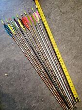 10 Arrows. Aluminum . Used. Archery