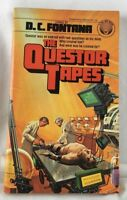 """The Questor Tapes"" Movie (Paperback Book 1979) Sci-Fi DC Fontana - Del Rey"