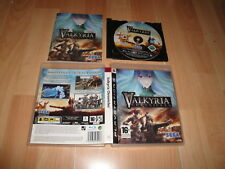 VALKYRIA CHRONICLES RPG DE SEGA PARA LA SONY PLAY STATION 3 PS3 EN BUEN ESTADO