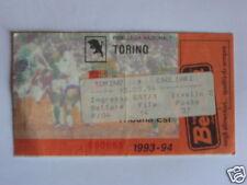 TORINO - CALGIARI BIGLIETTO TICKET 1993 / 94