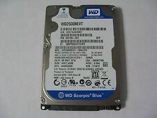 WD Scorpio Blue 250GB SATA WD2500BEVT-60A23T0, HHCTJABB (H52-12)