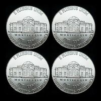 2012 2013 P+D Jefferson Nickel Set ~ Uncirculated U.S. Mint Coins from Bank Roll